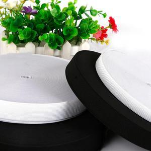 5 метров 0,6-5 см Цвет белый, черный, Эластичная лента спандекс ремень отделка швейная/резиновая лента одежда Гибкий Нейлоновый Шнур для короткой юбки; Брюки