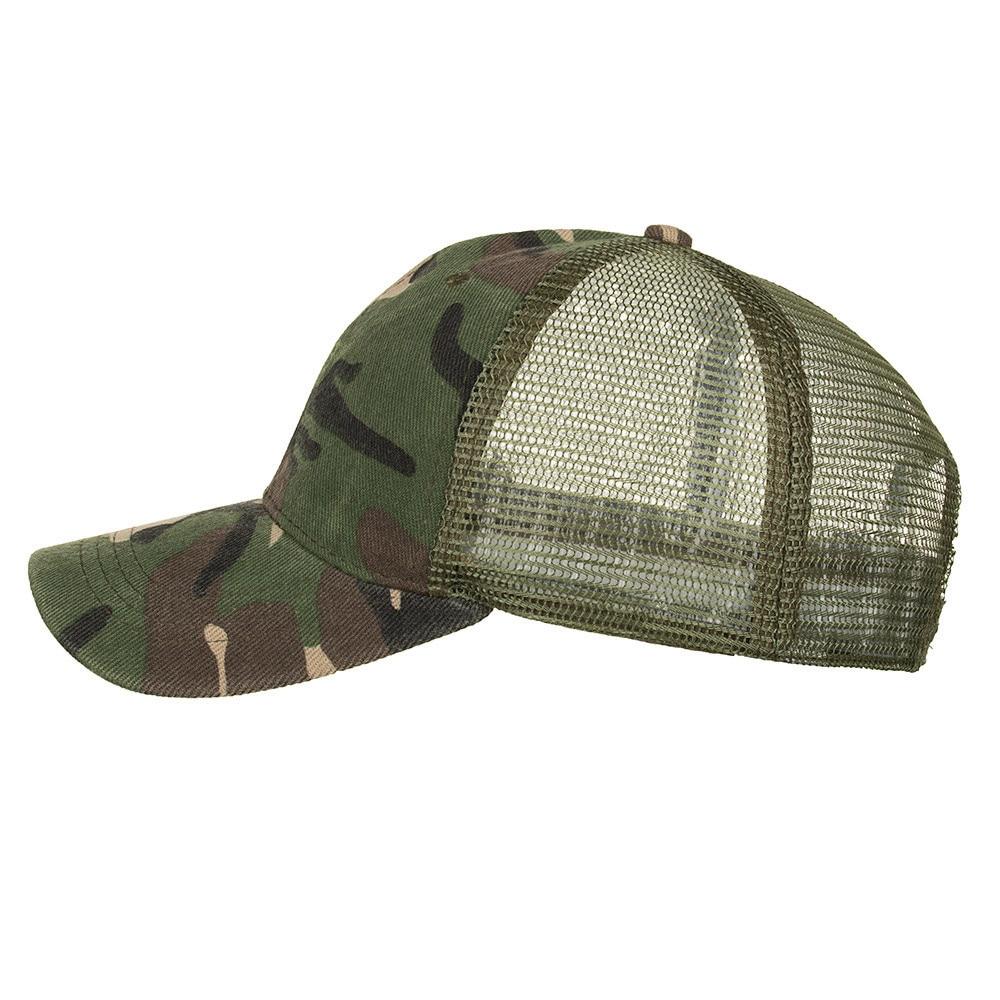 Camouflage Ponytail Baseball Cap 2020 Messy Bun Hats For Women Men Snapback Caps Casual Summer Sun Visor Outdoor Hat Gorras Casquette 7