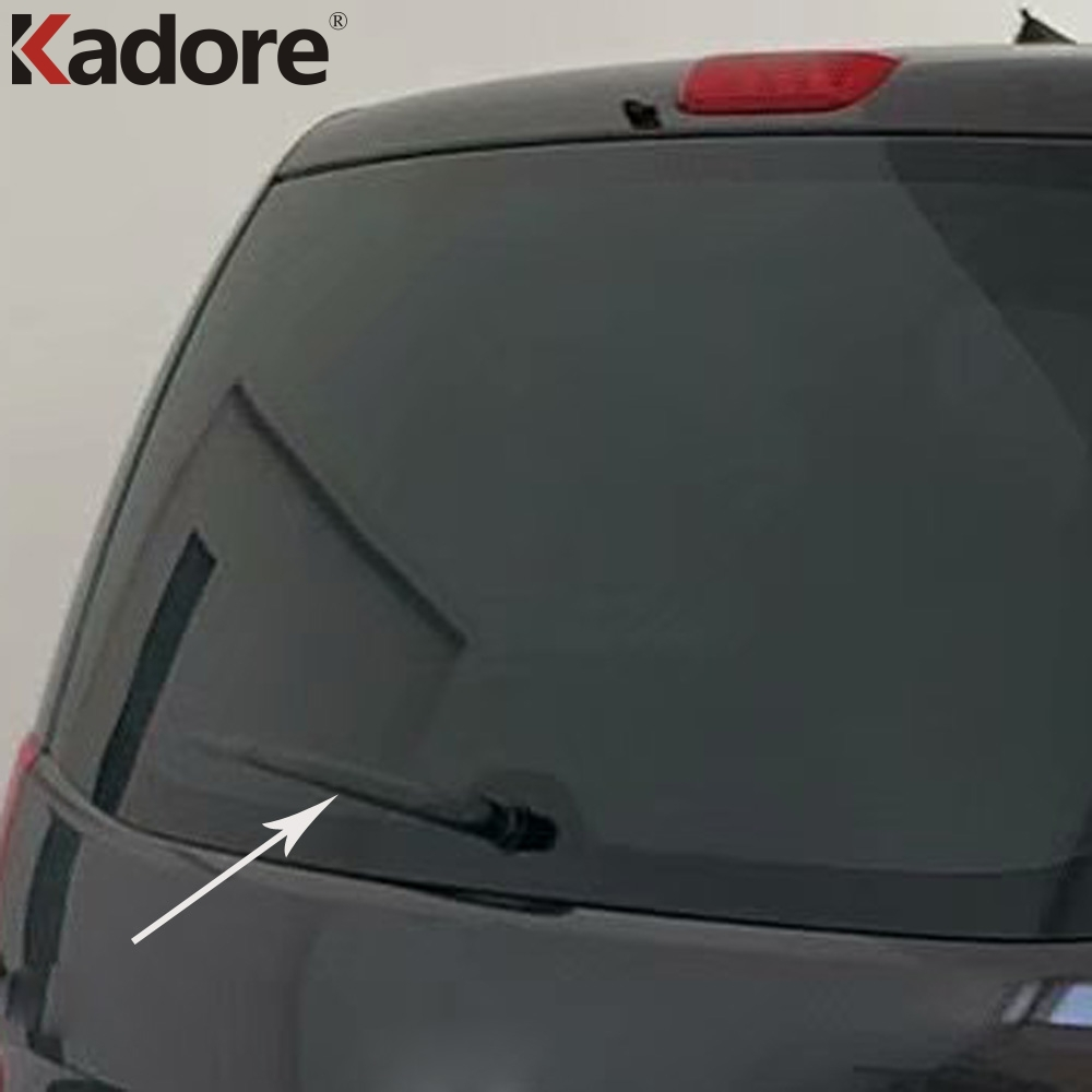 For <font><b>Hyundai</b></font> Grand Starex H-1 i800 2018 <font><b>2019</b></font> 2020 Car ABS Chrome Rear Window Windscreen Wiper Cover Trims Exterior Accessories image