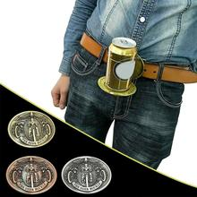Открывалка для пива в форме велосипеда бар металлическая стойка для пивных банок джинсовый ремень Пряжка держатель для сумки аксессуары#2A28
