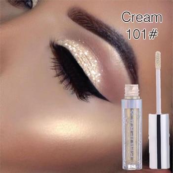 PHOERA Liquid Eyeshadow Metallic Diamond Shiny Eye Liner Pen Eyeshadow Palette Long lasting Shimmer Pigmented Cosmetic TSLM2 1