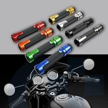 "Мотоцикл Универсальный accessories7/"" 22 мм мотоцикл рукоятка шапки/руль GripsFor YAMAHA SR400 YZF R125 YZ125 PW50 YZ450F"