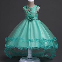 Детское платье-пачка с вышивкой, на Возраст 3-15 лет
