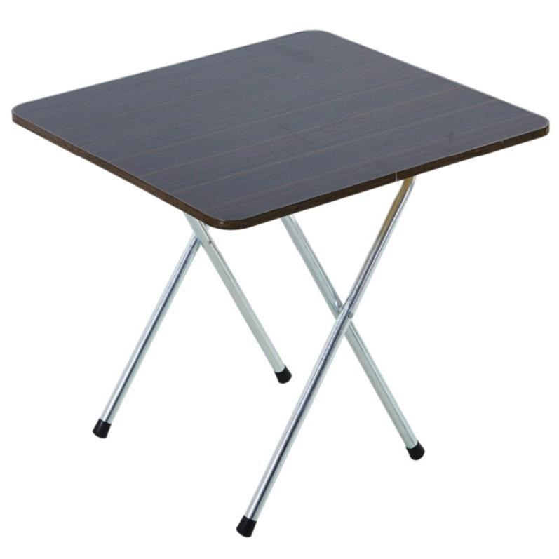 Folding Table Small Table Simple Household Small Apartment Two People Four People Stall Portable Square Small Dining Table