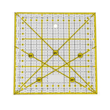 Acrylic-Material Cutting-Ruler Sewing-Accessories Patchwork-Tools Transparent Square