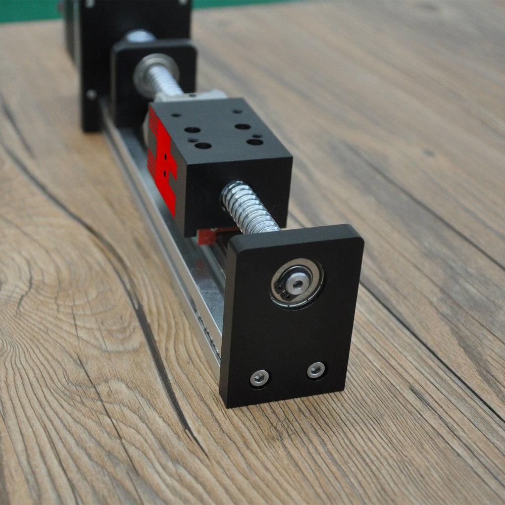 Livraison gratuite FUYU marque C7 vis à billes entraînée CNC linéaire mouvement étape glissière actionneur Rail de guidage pour imprimante 3d Kit de bras robotique - 4