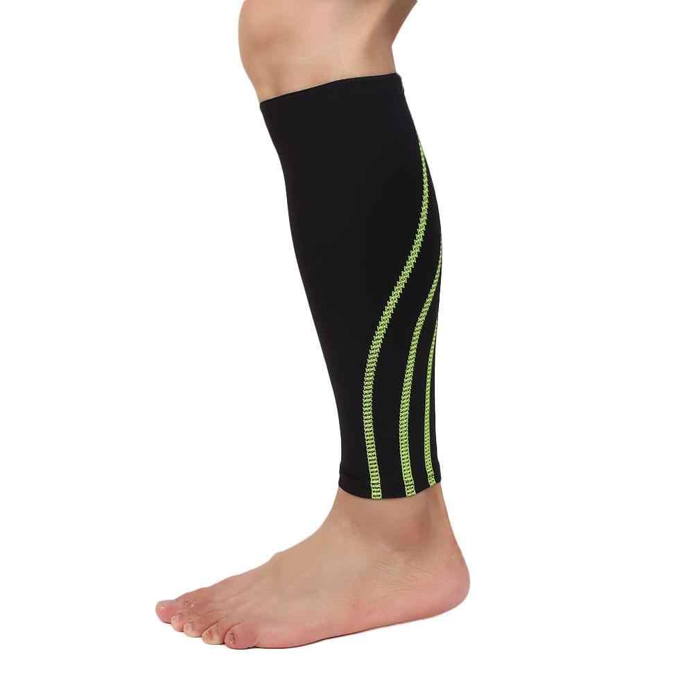 Spor futbol topu koşu buzağı destek ayağı çorap sıkıştırma manşonu bilek koruyucu