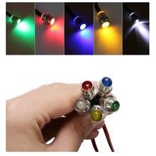 Lampe directionnelle pour tableau de bord, 10 pièces, 5 couleurs, pour voiture et moto