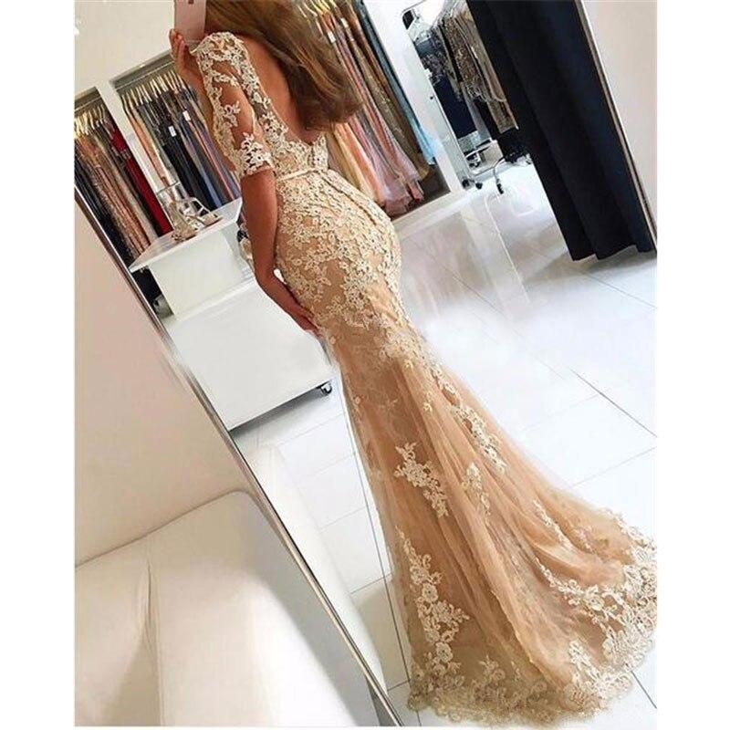 até a metade, vestido, noiva, sereia