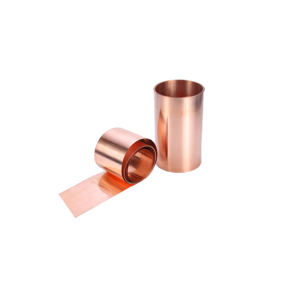 US Stock 0.08mm x 100mm x 1000mm 99.9/% Pure Copper Cu Metal Sheet Foil