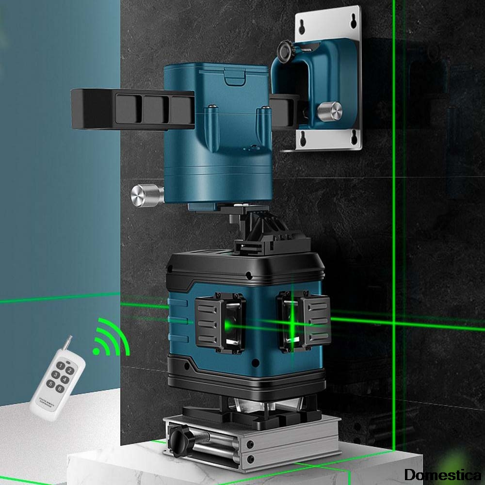 Laser Level 8/12 Lines 3D Self-Leveling 360 Horizontal And Vertical Cross Super Powerful Green Laser Beam Line