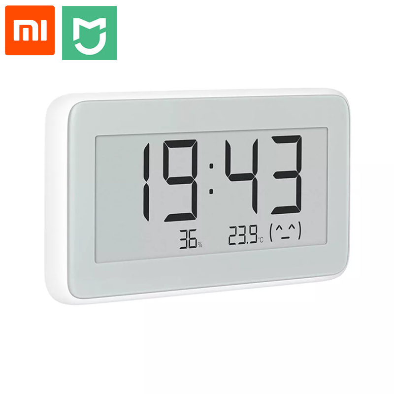 New Xiaomi Mijia Bluetooth Digital Thermometer Temperature Humidity Sensor LCD Screen Hygrometer Moisture Smart Linkage Mi APP