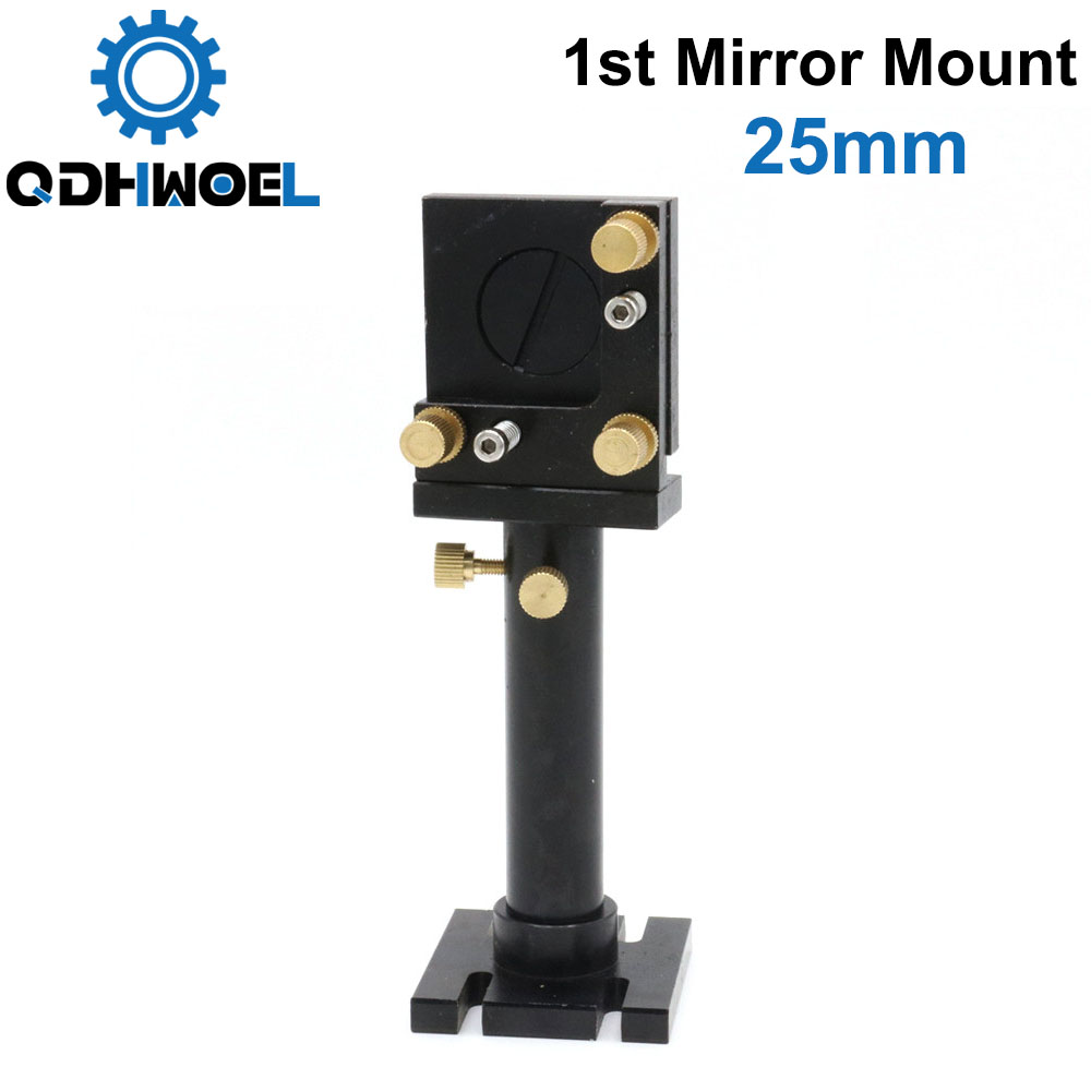 Co2 Laser First Mirror Mount 25mm Without Adjust Halo For Laser Engraving And Cutting Machine
