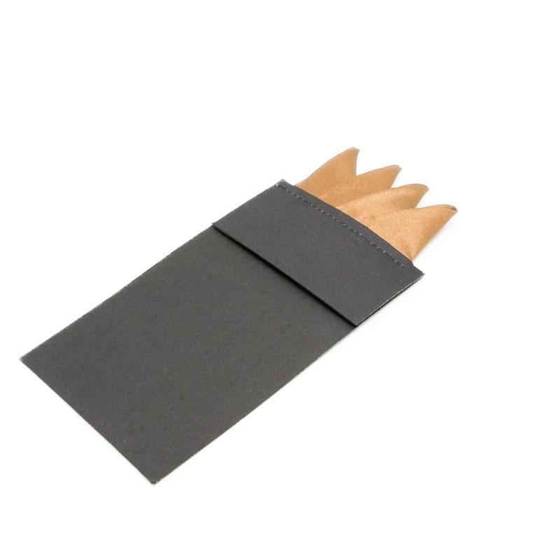 Fashion Men Solid Color Pocket Square Handkerchief Prefold Wedding Party Hanky 85WB