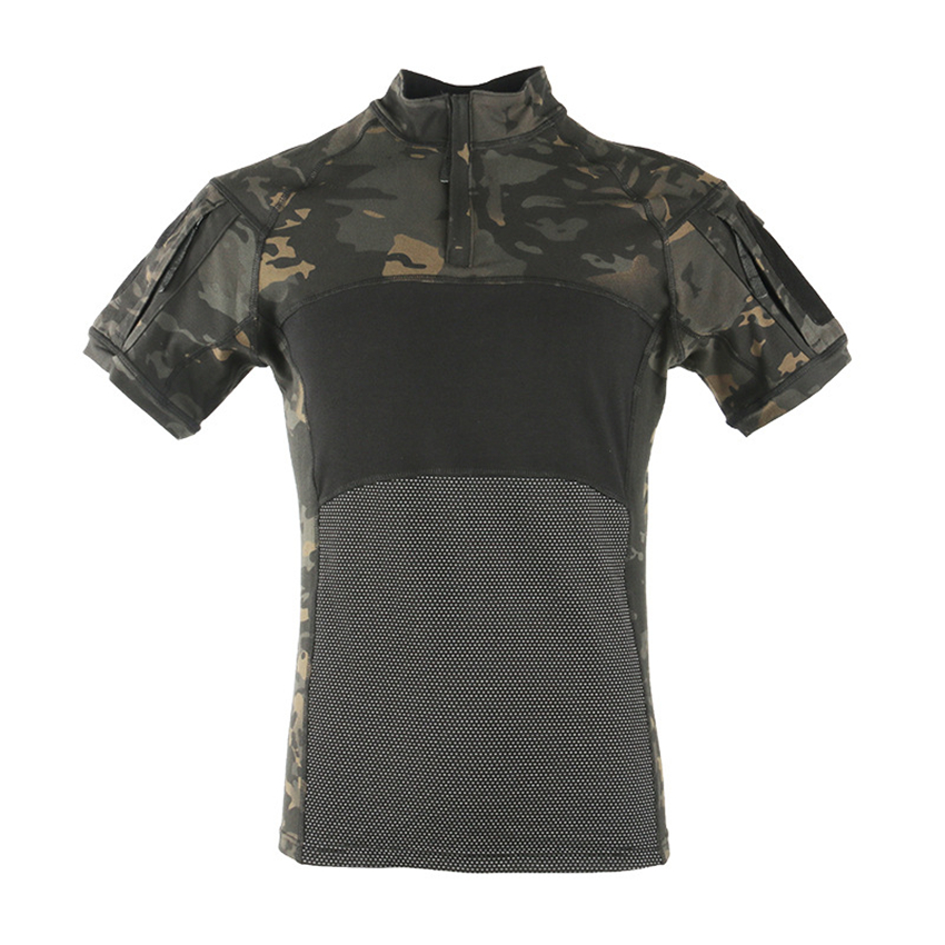 Summer 2020 News  Men Women Frog Combat Shirts Army Suit Soldier Training Military Uniform Disguise Tactical Clothing Work