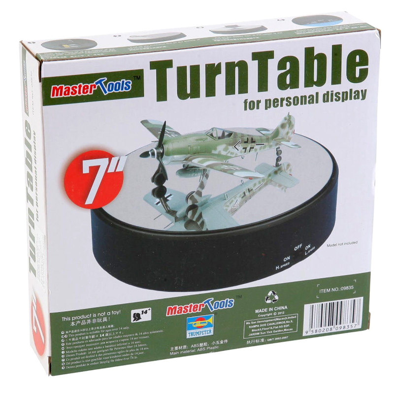 Trumpeter 09835 Model Craft Master Tools TurnTable For Personal Display