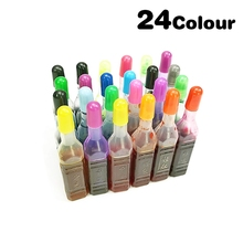 DIY Pigment Dye-Colorant Epoxy Resin 24/36-Colors Ink-Dye-Ink Slime-Supplies-Accessories
