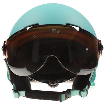 Mężczyźni kobiety Snowboard kask z nauszniki gogle ciepłe bezpieczeństwa kask narciarski profesjonalne narty śnieg sport Snowboard kask tanie i dobre opinie Unisex Winter 14 lat Skiing 58-60 cm Snowboard Helmet Kompozyty Pełni pokryte Black White Orange Blue (optional) M L (optional)