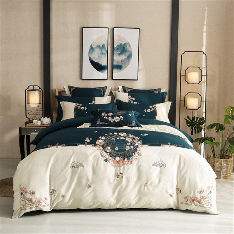 Luxury Egyptian cotton bedding set ...