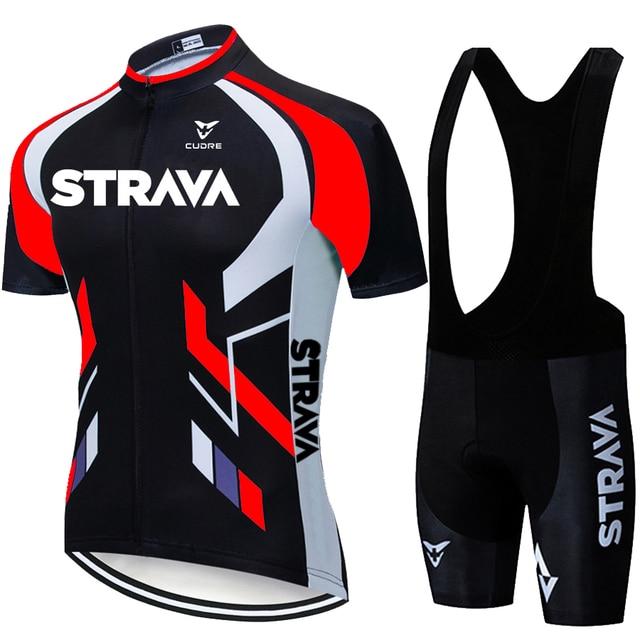 2020 equipe strava ciclismo jerseys bicicleta wear roupas bib gel define roupas ropa ciclismo uniformas maillot esporte wear 4