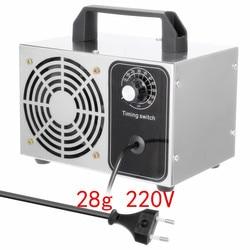 220V ozon generator 28g 24g 10g 15g 18g ozon maschine luftreiniger desodorierung desinfektion und sterilisation