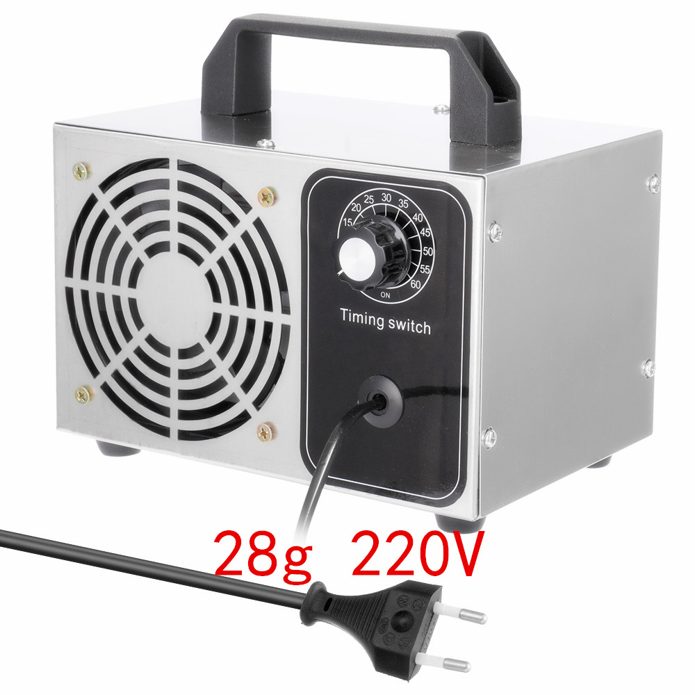 220V Ozone Generator 28g 24g 10g 15g 18g Ozone Machine Air Purifier Air Purifier Deodorization Disinfection And Sterilization