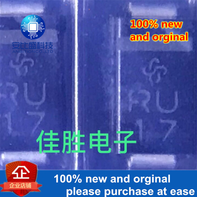 50pcs 100% New And Orginal SMAJ85A DO214AC Silk-screen RU  In Stock