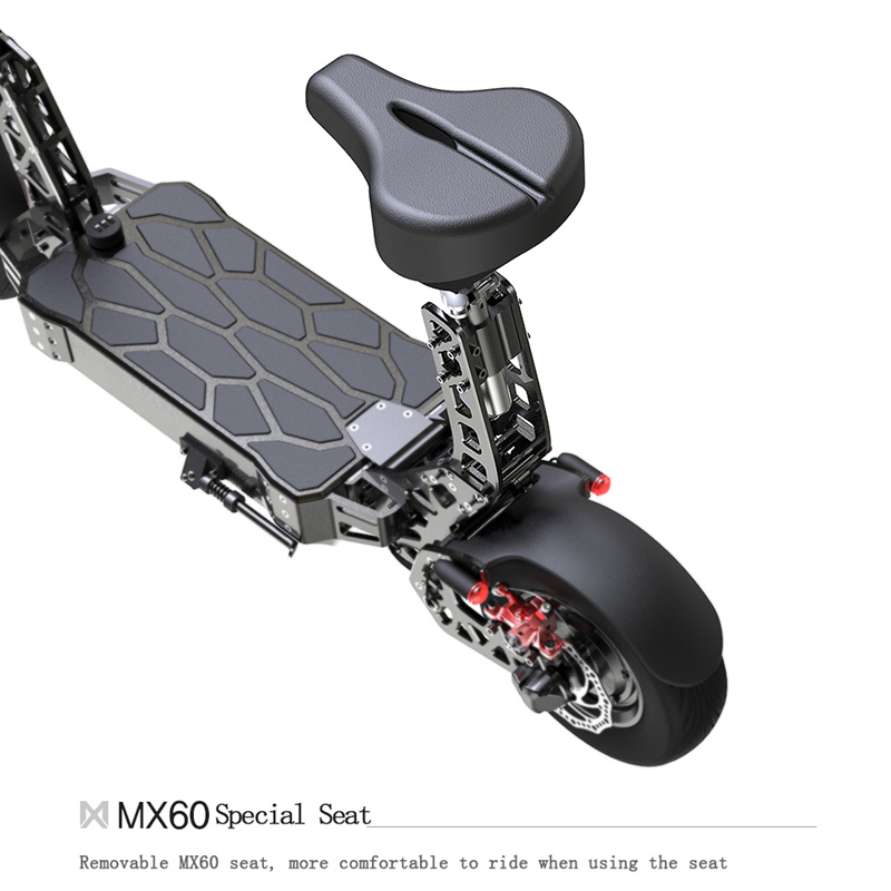 Original Removable Seat For <font><b>Mercane</b></font> <font><b>MX60</b></font> Electric Scooter Height Adjustable Saddle image