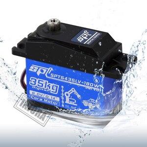 Waterproof 30KG 25KG Large Torque Digital Servo SPT 5425LV 5435LV for 1/10 Scale RC Crawler Car RC Model