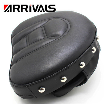 New Motorcycle Backrest Pad Front Driver Rider Sissy Bar For Touring Road Gilde Motorcycle Accessories Covers