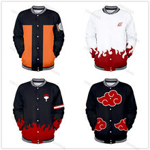 3D anime Sasuke/Kakashi kids Sweatshirts Jacket Men/boys Hoodie Akatsuki Coat Uchiha Itach Cosplay Akatsuki Autumn/winter tops