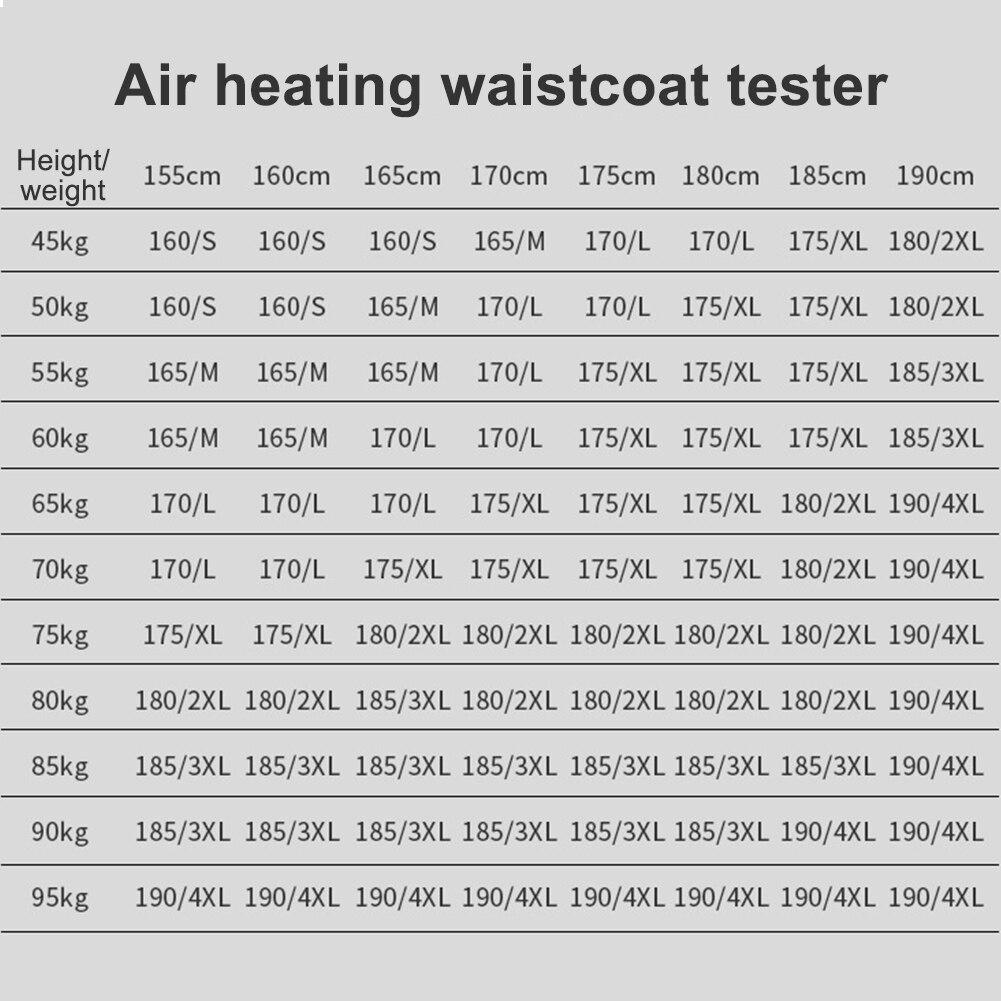 colete de aquecimento colete colete de aquecimento colete de aquecimento