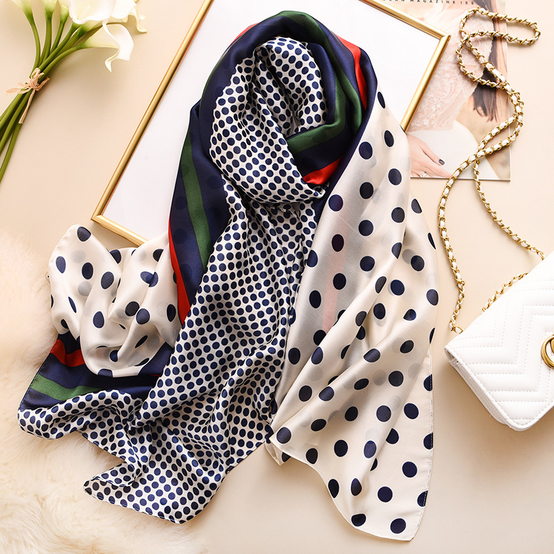 2020 Luxury Brand New Summer Women Silk Scarf Beach Hijab Shawls And Wraps Female Foulard Echarpe Designer Bandana Free Shipping