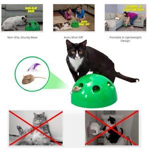 Image 3 - Katze Spielzeug Interaktive Pop Spielen Pet Spielzeug Ball Lustige Traning Katze Spielzeug Kratzen Gerät Für Katze Schärfen Klaue Kätzchen Spielzeug pet Liefern