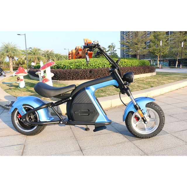 European Warehouse New Model Electric scooter 2000W fat Wheel Citycoco M8 Adult Motorcycle Chopper 6