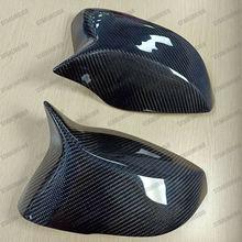 Сменный зеркальный корпус из углеродного волокна, совместимый с 2013- Infiniti Q50 Q50S Q50L