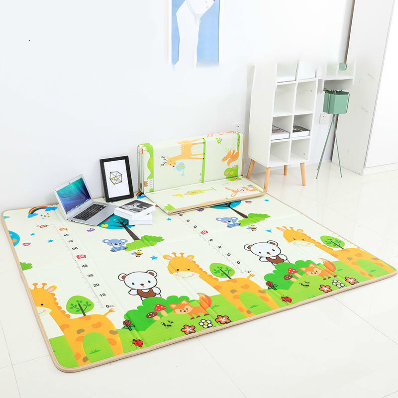 Children Game Carpet Kids Room Mat Fence Double Surface Baby Playpen Playmat Toys Carpets For Living Tent Pad Juguetes