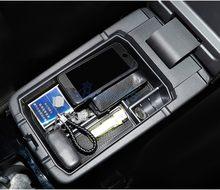Para Mitsubishi Eclipse Cruz 2018 de 2019 de 2020 caja de almacenamiento de reposabrazos Interior consola bandeja funda, soporte organizador Accesorios