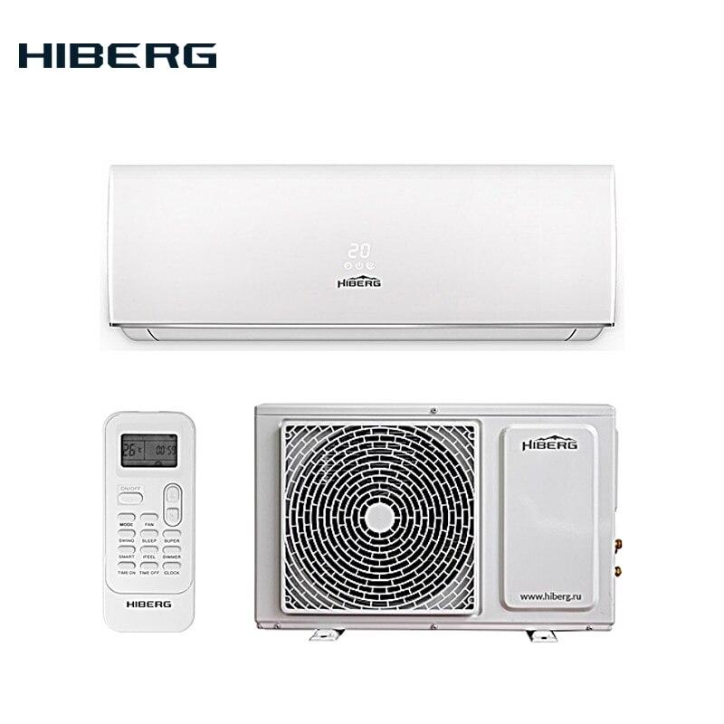 Сплит-система HIBERG AC-07 Elite, A класс, 4D распределение воздушных потоков, Низкий уровень шума 28-36 дБ, Фильтр COLD PLASMA, I FEEL