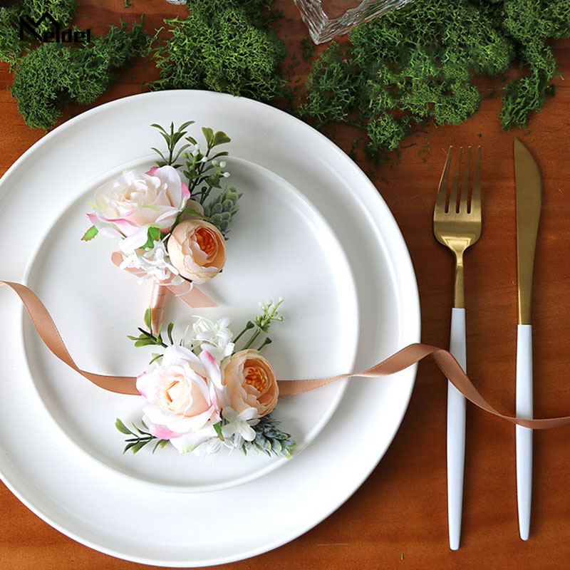 wedding boutonniere wrist corsage marriage (12)