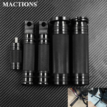 Motorcycle Handle Bar Hand Grips CNC Footpegs Foot Pegs Footrest Pedal Shifter Nail For Harley Dyna Softail Touring Sportster XL