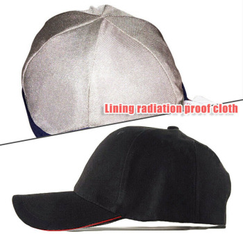 Unisex emf radiation protection baseball cap rfid shielding electromagnetic hat nin668
