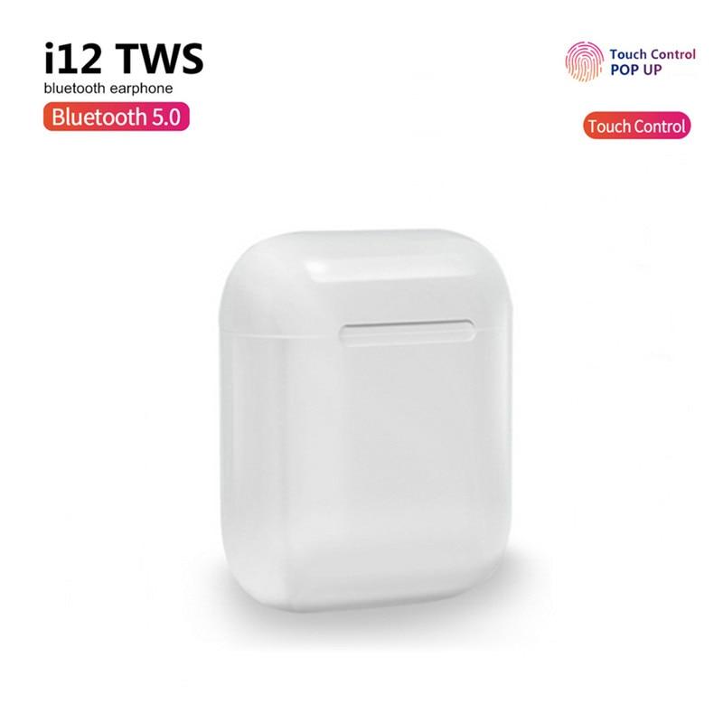 I12 Tws Original Headphone Wireless Bluetooth Earphone Earbuds With Mic Charging Box Sport Headset For Smart Phone Pk I11 I9s
