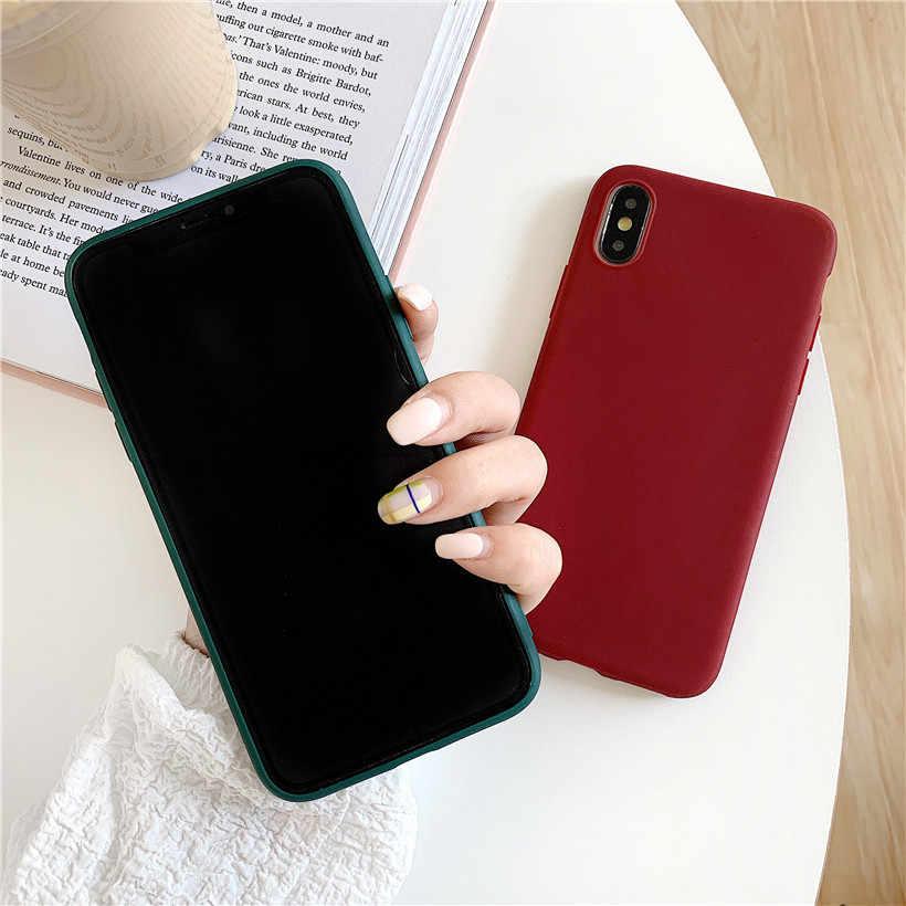 Cukierki kolor skrzynka dla Xiaomi Redmi 8A 8 7A 7 6 Pro 6A 6 5 Plus 5A 5 4X 4A 3S skrzynka luksusowa miękka TPU tylna pokrywa dla Xiaomi Redmi 8A