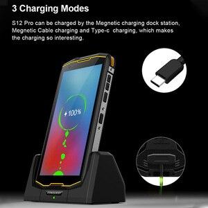 Image 3 - CONQUEST 8000 мАч S12 Pro IP68 водонепроницаемый прочный смартфон мобильный телефон 6,0 дюймов Android 9,0 helio P70 Восьмиядерный прочный смартфон