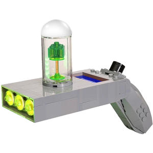 Toys Portal Gun Building-Blocks Science-Fiction Construction-Assembly Technic MOC City-Movie