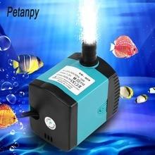 цена на 3/6/10/15w Ultra-Quiet Submersible Water Fountain Pump Filter Fish Pond Aquarium Water Pump Tank Fountain