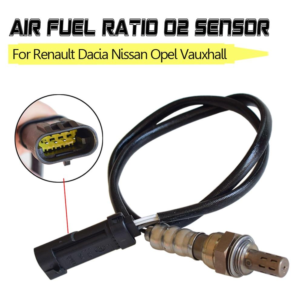 Sensor de oxigênio 8200437489 para nissan renault avantime clio 2 3 espace megane dacia opel vauxhall sonda ar combustível relação o2
