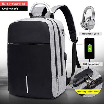 "OUBDAR Men Multifunction Anti Theft Backpack 15.6"" Inch Laptop Usb Charging Backpacks Waterproof Schoolbag Business Travel Bags 1"