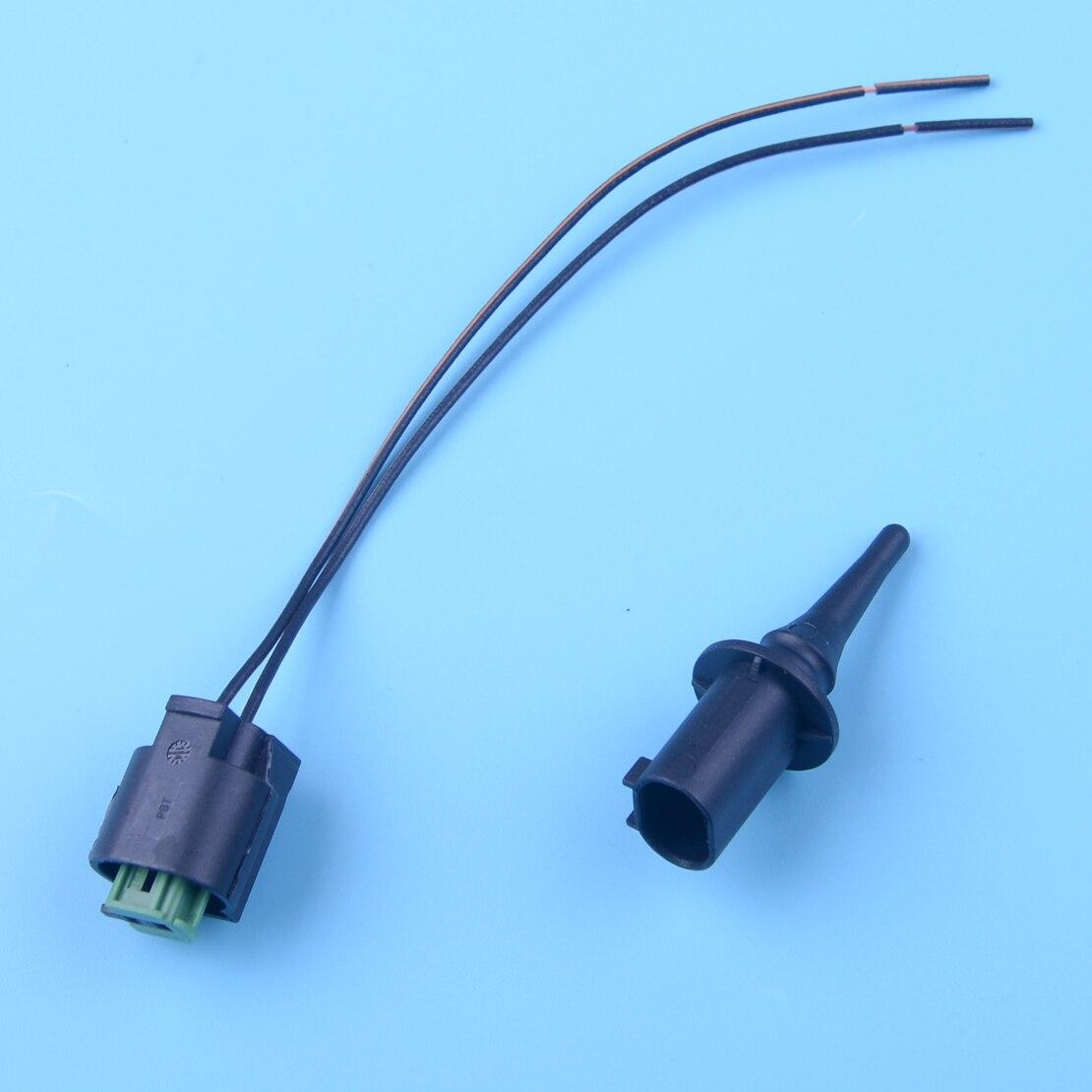 CITALL Outer Ambient Air Temperature Sensor & Plug For Mercedes Benz C E CLK CLS GLK Smart Sprinter Vaneo VW Crafter 0075421318
